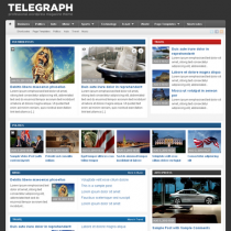Telegraph Professional by WPzoom