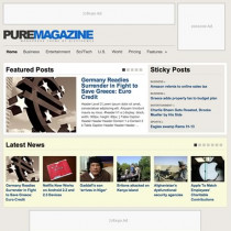 Pure Magazine by Wpzoom