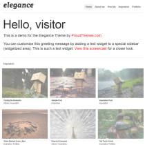 Elegance by WPzoom