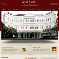 Hospitality by templatic