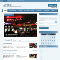 Events by templatic