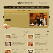 Foodilicious by Templatic