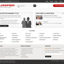 Classifieds by Templatic