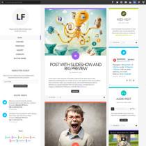 LiquidFolio by ThemeForest