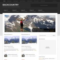 Backcountry by StudioPress