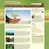 Going Green By StudioPress