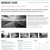 Minimum by StudioPress