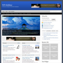 WP-Sublime by Solostream