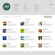 eList by ElegantThemes