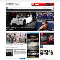 GeneralPress by Magazine3