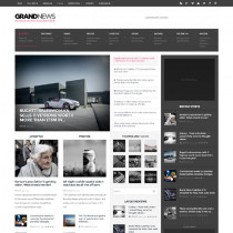 GrandNews by Themeforest