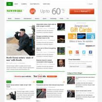 Newswire 2.0 by theme junkie