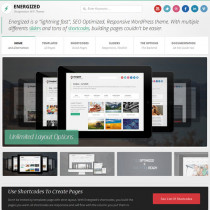Energized by ThemeForest