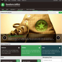 Sneakers Addict by Colorlabsproject