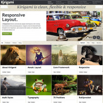 Kirigami by RocketTheme