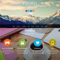 Parallax by Themify