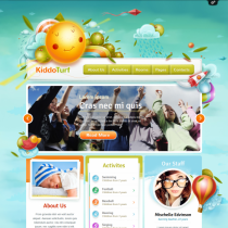KiddoTurf by Themefuse