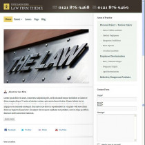Law Firm by Bizzthemes