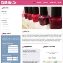 Nail Care Salon by Bizzthemes