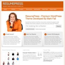 Resume by Premiumpress