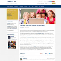 Academica Pro by WPzoom