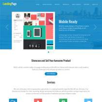 Landing Page by Templatic