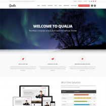 Qualia by themeforest