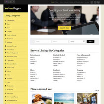 Yellow Pages by Templatic