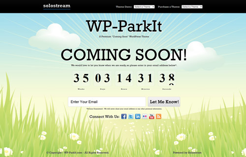 A Collection of Coming Soon Web Pages  Webdesigner Depot