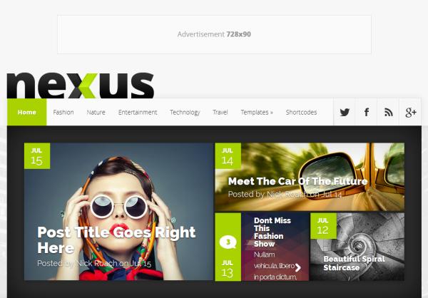 Nexus-Homepage
