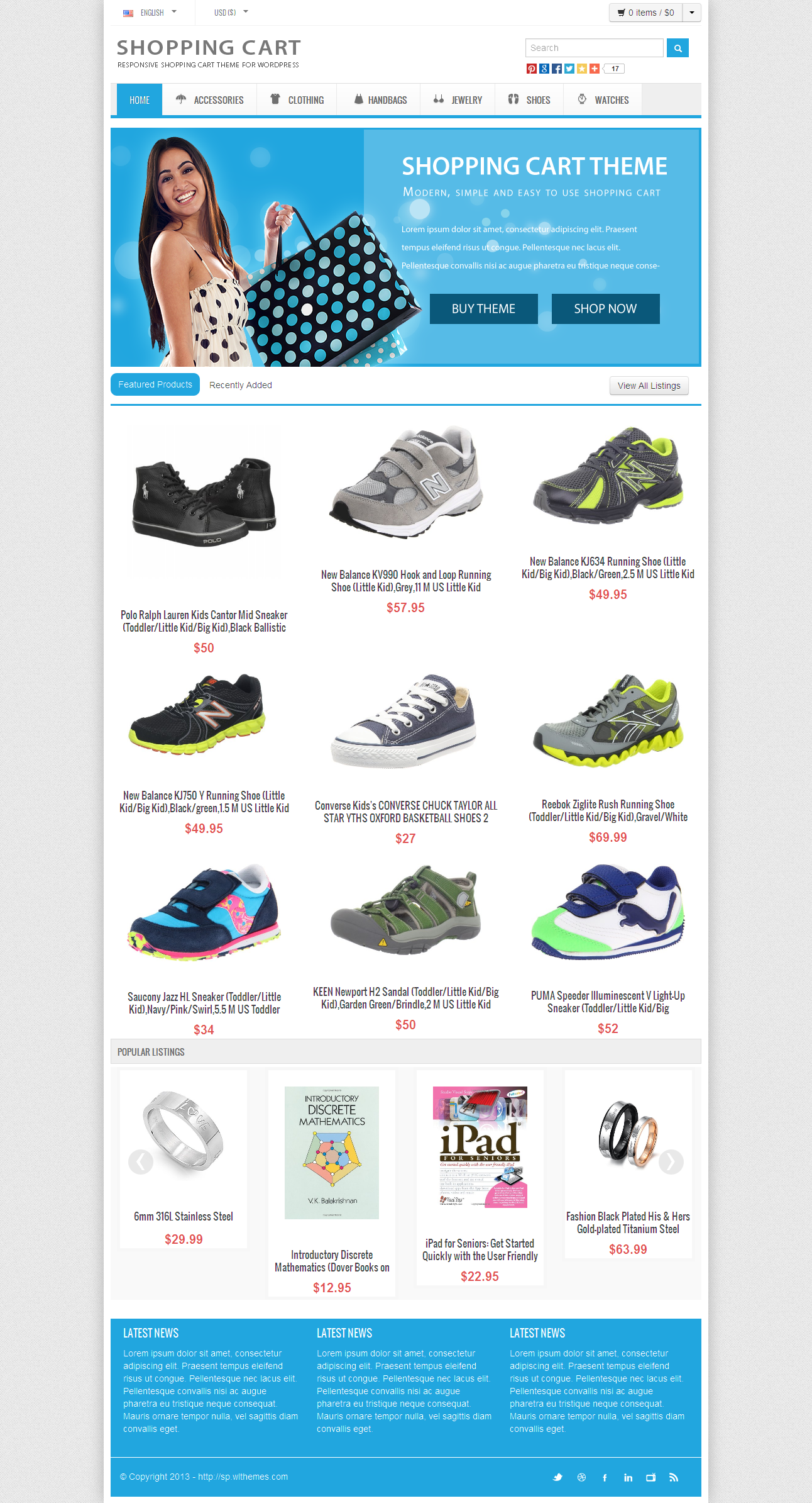 how to build a multiple department online ecommerce store