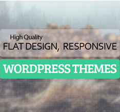 Best Flat Responsive Design WordPress Themes 2020